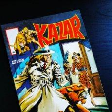 Cómics: CASI EXCELENTE ESTADO KAZAR 10 VERTICE LINEA SURCO KA-ZAR. Lote 194396823