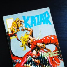 Cómics: CASI EXCELENTE ESTADO KAZAR 9 VERTICE LINEA SURCO KA-ZAR. Lote 194397210