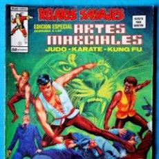 Cómics: RELATOS SALVAJES - ARTES MARCIALES Nº 9 - SANGRE DEL DRAGÓN DORADO - VÉRTICE 1975. Lote 194508118