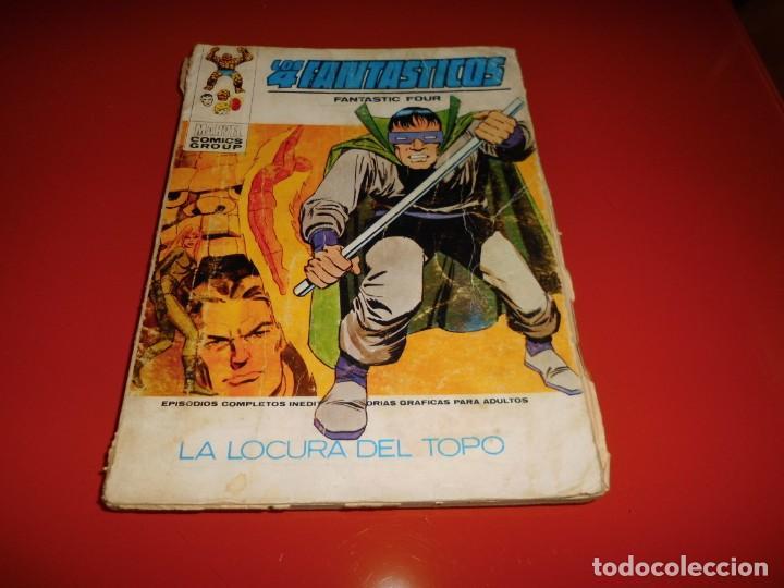 LOS 4 FANTASTICOS VOL. 1 Nº 44 - VERTICE (Tebeos y Comics - Vértice - 4 Fantásticos)