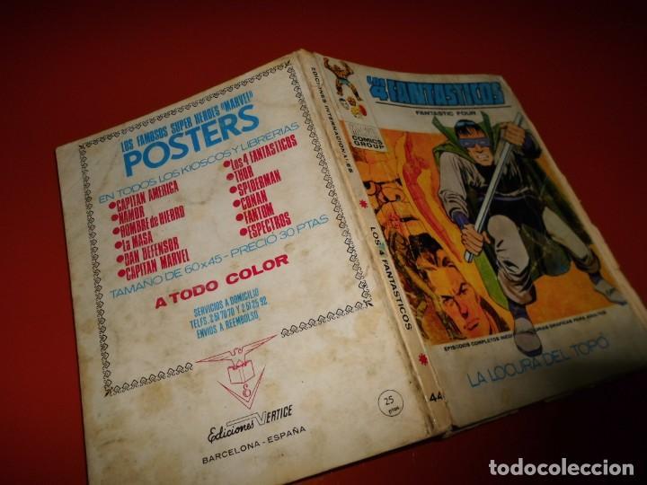 Cómics: Los 4 fantasticos vol. 1 nº 44 - vertice - Foto 3 - 194525422