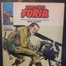 Comics : SARGENTO FURIA N.8 MUY JOVEN PARA MORIR . ( 1972/1974 ).. Lote 194529553
