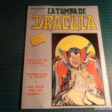 Cómics: LA TUMBA DE DRACULA. V2- Nº 7. MUNDICOMICS. VERTICE. (M-4). Lote 194543511