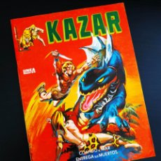 Cómics: CASI EXCELENTE ESTADO KAZAR 1 VERTICE LINEA SURCO KA-ZAR. Lote 194583971