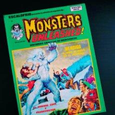 Comics : CASI EXCELENTE ESTADO ESCALOFRIO 34 VERTICE MONSTERS. Lote 194586508