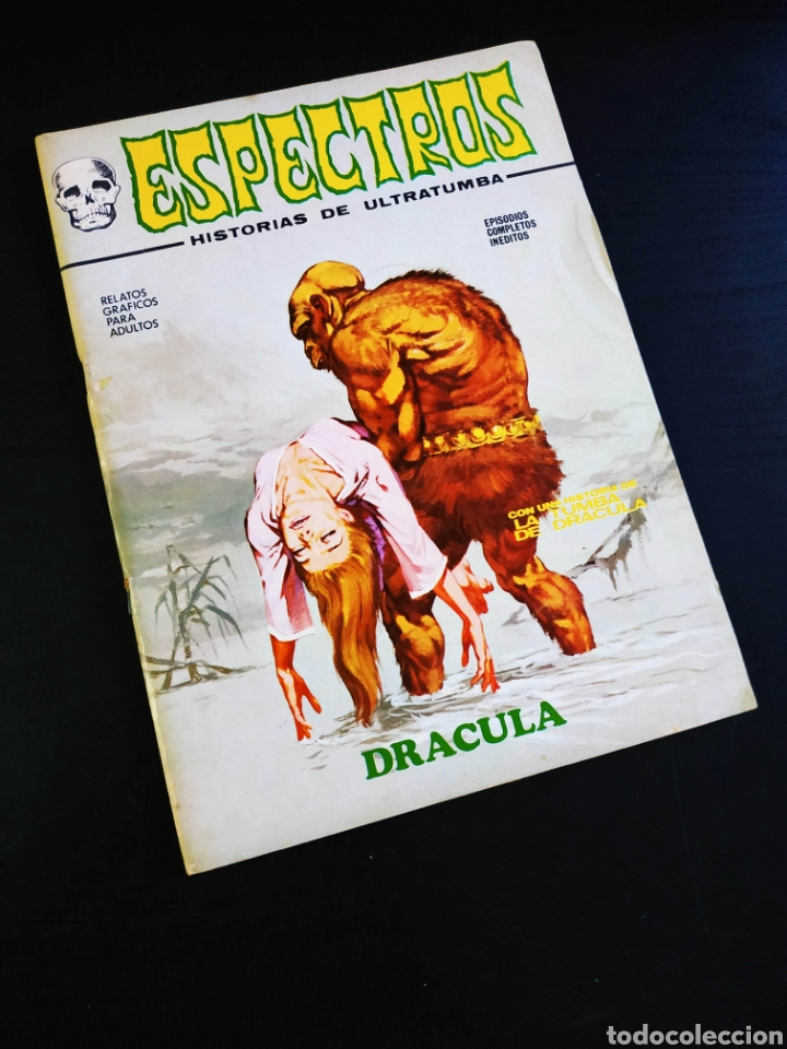 CASI EXCELENTE ESTADO ESPECTROS 11 VERTICE (Tebeos y Comics - Vértice - Terror)
