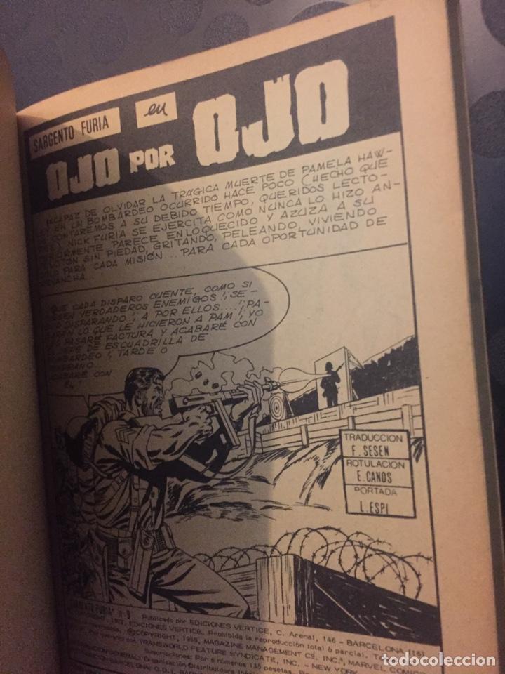 Cómics: SARGENTO FURIA VOL.1 N.9 OJO POR OJO . SGT. FURY . EDICIONES INTERNACIONALES . ( 1972/1974 ). - Foto 4 - 194631677