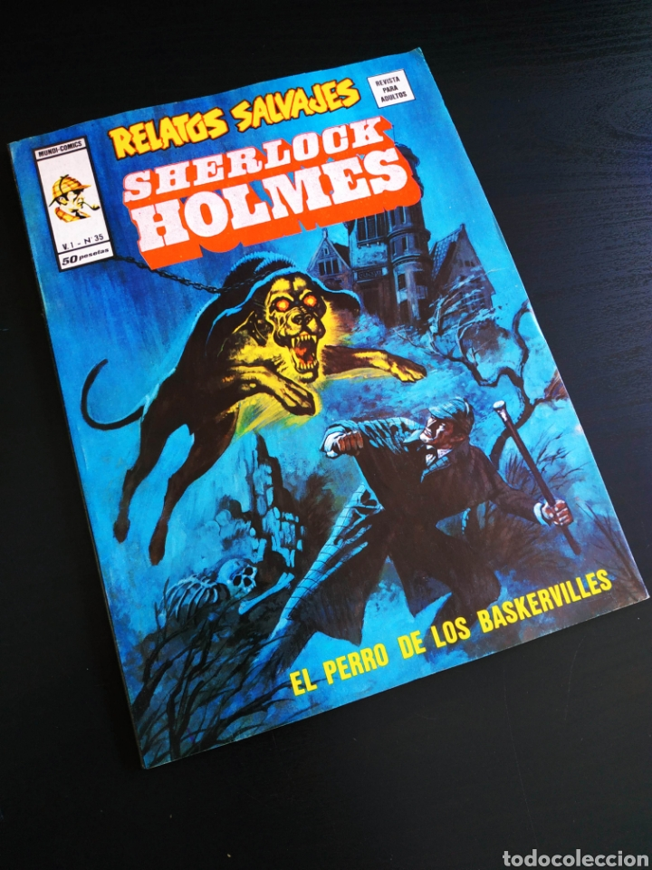 DE KIOSCO RELATOS SALVAJES 35 VERTICE (Tebeos y Comics - Vértice - Relatos Salvajes)