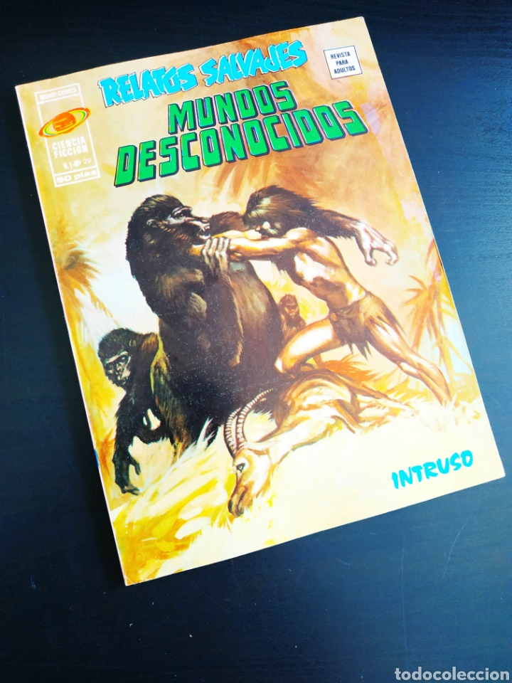 DE KIOSCO RELATOS SALVAJES 29 VERTICE (Tebeos y Comics - Vértice - Relatos Salvajes)