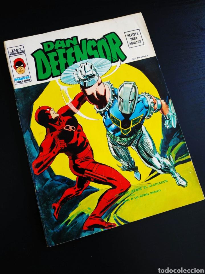CASI EXCELENTE ESTADO DAN DEFENSOR 2 VERTICE VOL II (Tebeos y Comics - Vértice - Dan Defensor)