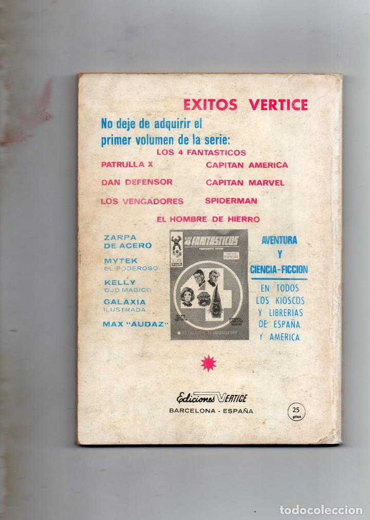 Cómics: COMIC VERTICE 1970 DAN DEFENSOR VOL1 Nº 9 ( BUEN ESTADO ) - Foto 2 - 194701865