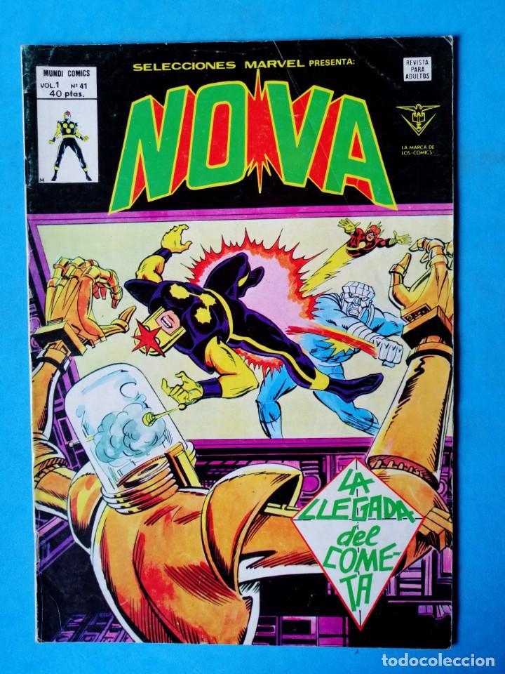 NOVA VOL.1 Nº 41 - LA LLEGADA DEL COMETA - VÉRTICE 1978 (Tebeos y Comics - Vértice - Otros)