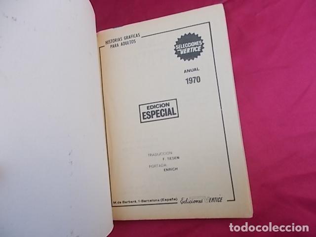 Cómics: VERTICE - ANUAL 1970. EDICIONES VÉRTICE - Foto 2 - 194712823