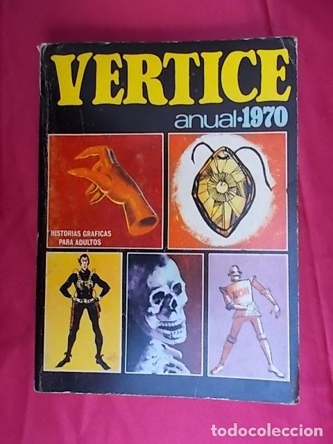 VERTICE - ANUAL 1970. EDICIONES VÉRTICE (Tebeos y Comics - Vértice - V.1)