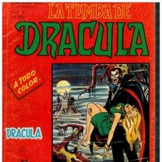 Cómics: ESCALOFRÍO -LA TUMBA DE DRÁCULA V.2- Nº 1. VÉRTICE 1981.. Lote 194731247