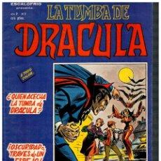 Cómics: ESCALOFRÍO -LA TUMBA DE DRÁCULA V.2- Nº 2. VÉRTICE 1981.. Lote 194731327