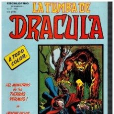 Cómics: ESCALOFRÍO -LA TUMBA DE DRÁCULA V.2- Nº 3. VÉRTICE 1981.. Lote 194731418
