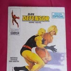 Fumetti: DAN DEFENSOR. VOL 1. Nº 2. EL HOMBRE PÚRPURA. EDICIONES VÉRTICE. TACO. Lote 194736685