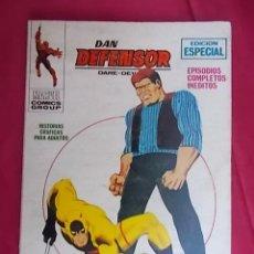 Fumetti: DAN DEFENSOR. VOL 1. Nº 8. EL ATAQUE DE EL BUEY. EDICIONES VÉRTICE. TACO. Lote 194740138