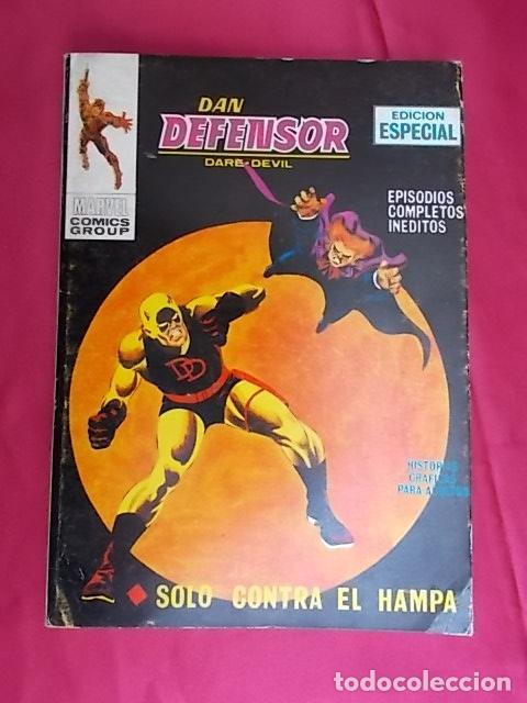 DAN DEFENSOR. VOL 1. Nº 9. SOLO CONTRA EL HAMPA. EDICIONES VÉRTICE. TACO (Tebeos y Comics - Vértice - V.1)
