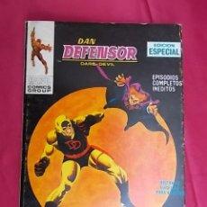 Fumetti: DAN DEFENSOR. VOL 1. Nº 9. SOLO CONTRA EL HAMPA. EDICIONES VÉRTICE. TACO. Lote 194740435