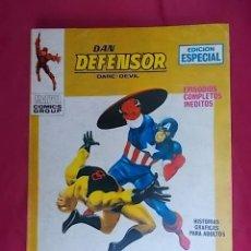 Fumetti: DAN DEFENSOR. VOL 1. Nº 17. D.D. CONTRA EL CAPITAN AMERICA. EDICIONES VÉRTICE. TACO. Lote 194741397