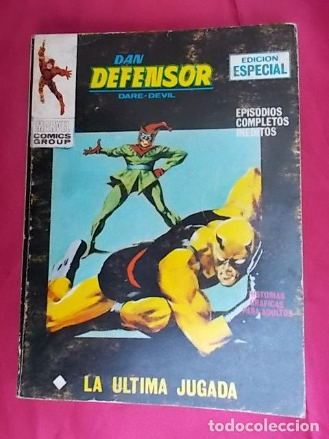 DAN DEFENSOR. VOL 1. Nº 18. LA ULTIMA JUGADA. EDICIONES VÉRTICE. TACO (Tebeos y Comics - Vértice - V.1)