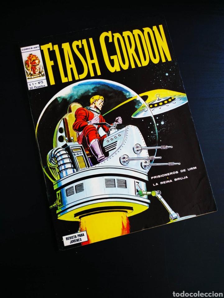 DE KIOSCO FLASH GORDON 5 VERTICE (Tebeos y Comics - Vértice - Flash Gordon)