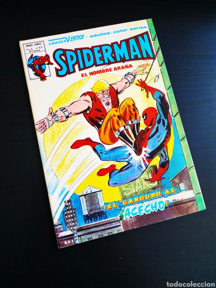 MUY BUEN ESTADO SPIDERMAN 62 VERTICE VOL III (Tebeos y Comics - Vértice - Otros)