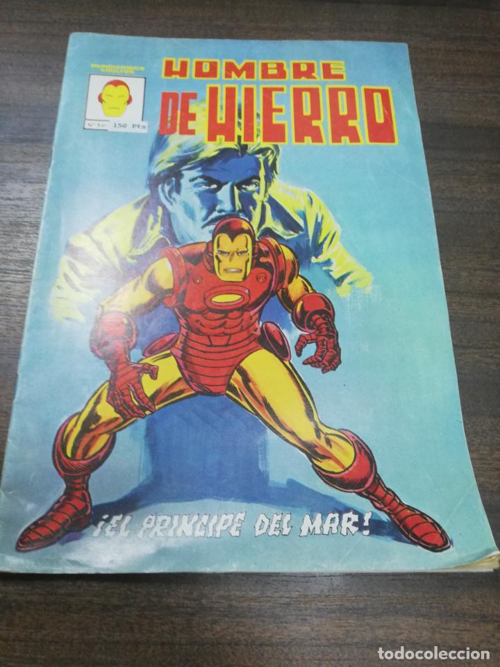 HOMBRE DE HIERRO. ¡ EL PRINCIPE DEL MAR!. EDICIONES VERTICE. (Tebeos y Comics - Vértice - Hombre de Hierro)