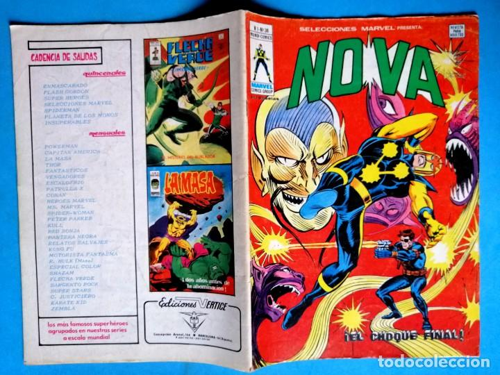 Cómics: NOVA VOL.1 Nº 38 ¡ EL CHOQUE FINAL ! - VÉRTICE 1978 - Foto 2 - 194780066