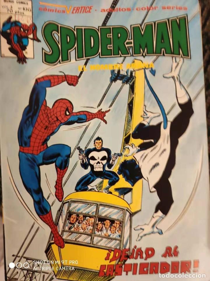 SPIDERMAN V3 DE VERICE NUMERO 63G (Tebeos y Comics - Vértice - V.3)
