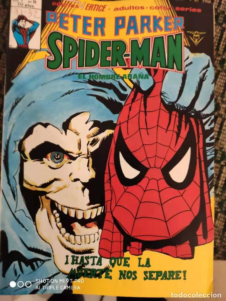 SPIDERMAN PETER PARKER V1 NUMERO 16 (Tebeos y Comics - Vértice - V.1)