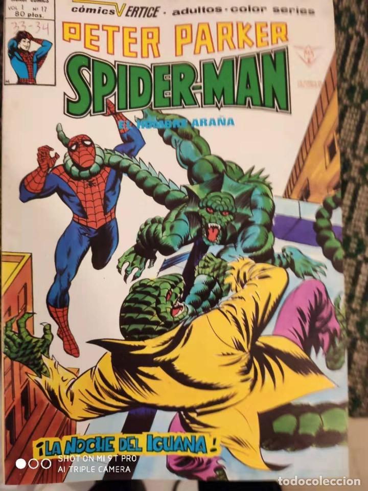 SPIDERMAN PETER PARKER V1 NUMERO 17 (Tebeos y Comics - Vértice - V.1)
