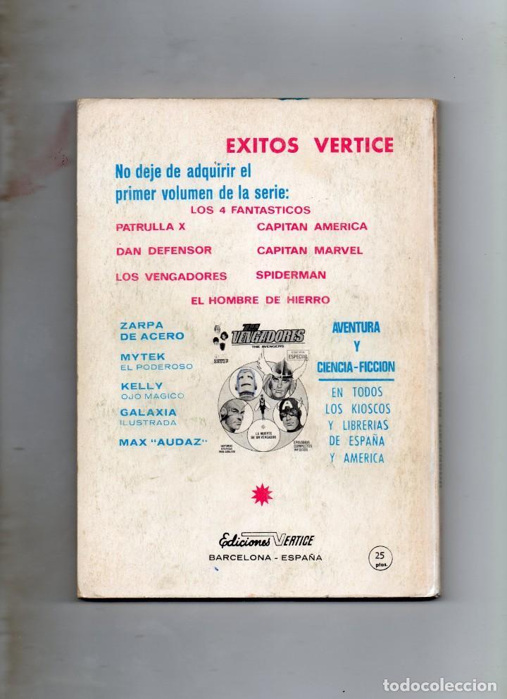 Cómics: COMIC VERTICE 1970 DAN DEFENSOR VOL1 Nº 7 ( BUEN ESTADO ) - Foto 2 - 194910267