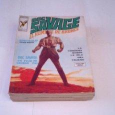 Cómics: HOMBRE DE BRONCE - VERTICE - COLECCION COMPLETA - 9 NUMEROS - GORBAUD - BUEN ESTADO. Lote 194929172