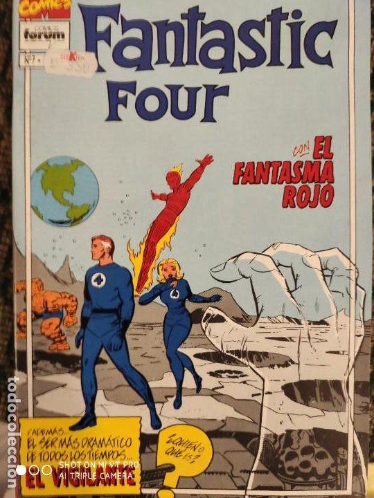 LOS 4 FANTANTISCOS CLASIC NUMERO 7 (Tebeos y Comics - Vértice - 4 Fantásticos)