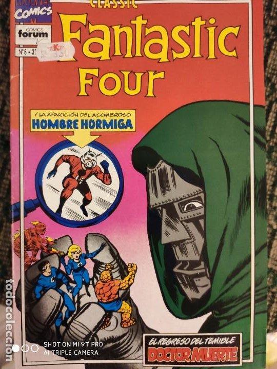 LOS 4 FANTANTISCOS CLASIC NUMERO 8 (Tebeos y Comics - Vértice - 4 Fantásticos)
