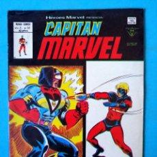 Cómics: CAPITÁN MARVEL VOL.2 Nº 57 - DEBAJO DE LA MÁSCARA... UN HOMBRE - VÉRTICE 1978 ''BUEN ESTADO'' . Lote 194937298