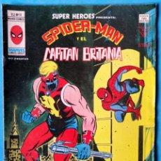 Cómics: SPIDERMAN Y EL CAPITÁN BRITANIA VOL. 2 - Nº 91 - VERTICE 1978 . Lote 194963560