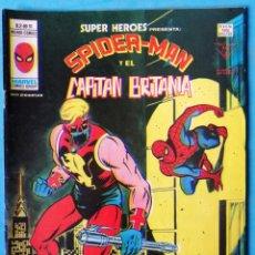 Cómics: SPIDERMAN Y EL CAPITÁN BRITANIA VOL. 2 - Nº 91 - VERTICE 1978 ''BUEN ESTADO''. Lote 194963751