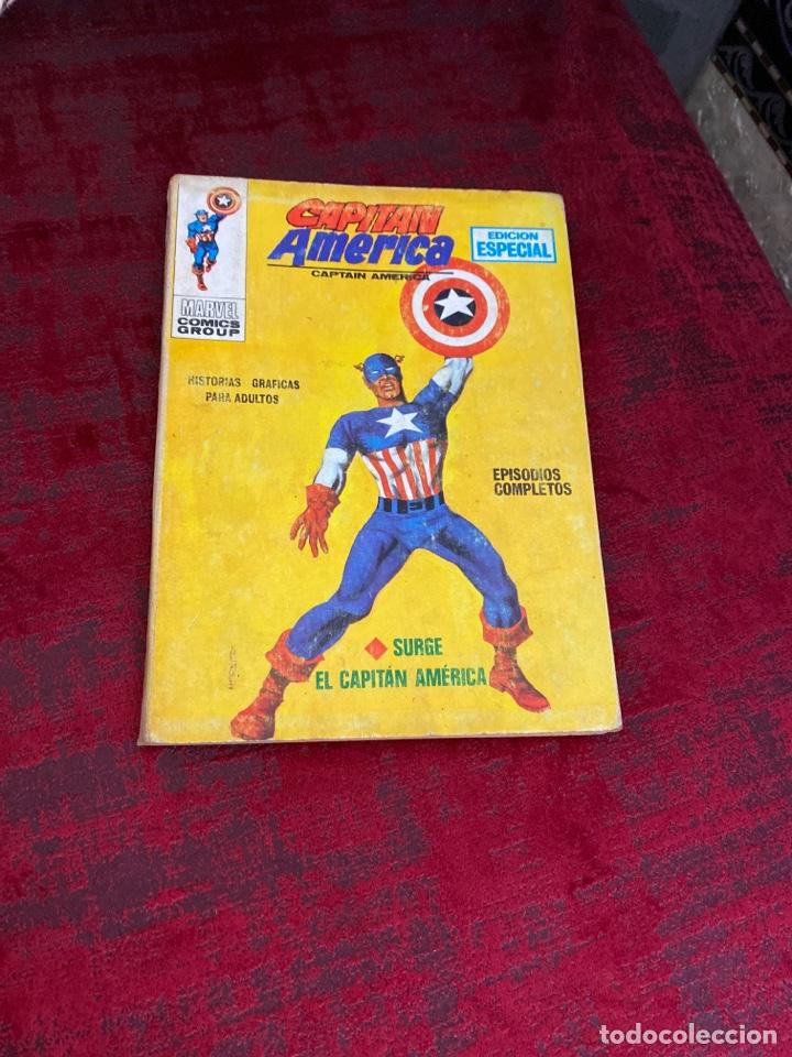 CAPITÁN AMÉRICA VOL 1 VÉRTICE NÚMERO 1, AÑO 1969 (SURGE EL CAPITÁN AMÉRICA ) DIFÍCIL ENCONTRAR (Tebeos y Comics - Vértice - Capitán América)