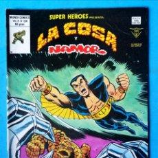 Cómics: LA COSA Y NAMOR - VOL. 2 - Nº 134 - CAZADORES DESDE LAS ESTRELLAS - VÉRTICE 1978 ''BUEN ESTADO''. Lote 195006177
