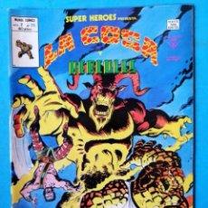 Cómics: LA COSA Y HERCULES - VOL. 2 - Nº 114 - VÉRTICE 1978 ''MUY BUEN ESTADO''. Lote 195007293