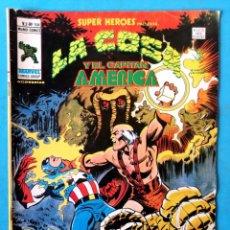 Cómics: LA COSA Y EL CAPITÁN AMÉRICA - VOL. 2 - Nº 104 - VÉRTICE 1978. Lote 195007530