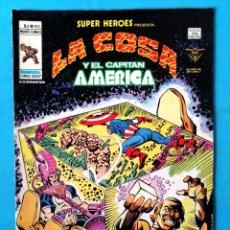 Cómics: LA COSA Y EL CAPITÁN AMÉRICA - VOL. 2 - Nº 103 - VÉRTICE 1979 ''BUEN ESTADO''. Lote 195007821