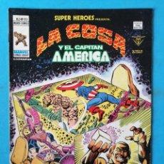 Cómics: LA COSA Y EL CAPITÁN AMÉRICA - VOL. 2 - Nº 103 - VÉRTICE 1979 ''BUEN ESTADO'' . Lote 195008097
