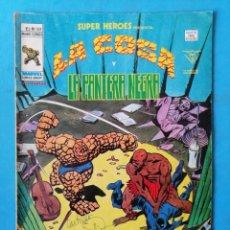 Cómics: LA COSA Y LA PANTERA NEGRA - VOL. 2 - Nº 102 - VÉRTICE 1979 . Lote 195008386