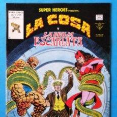 Cómics: LA COSA Y LA BRUJA ESCARLATA - VOL. 1 - Nº 131 - VÉRTICE 1980 ''MUY BUEN ESTADO'' . Lote 195011727