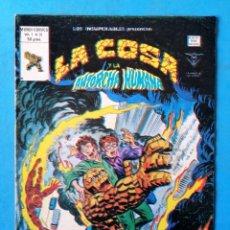 Cómics: LA COSA Y LA ANTORCHA HUMANA - VOL. 1 - Nº 31 - VÉRTICE 1980 . Lote 195011950